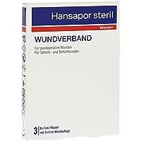 Hansapor steril Wundverband 6 x 7 cm Pflaster, 3 St. preisvergleich bei billige-tabletten.eu