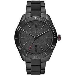 Armani Exchange Reloj Analógico para Hombre de Cuarzo con Correa en Acero Inoxidable AX1826