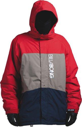 BILLABONG Herren Snowboard Jacke Bolt, fire red, L, L6JM03BIW2