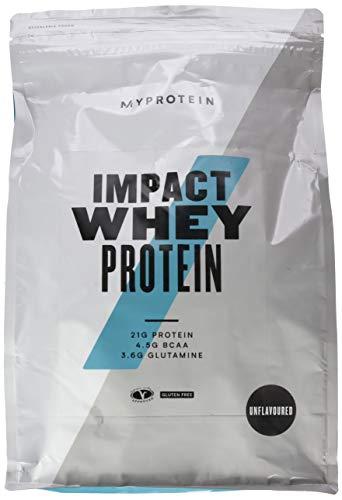 Myprotein Impact Whey Protein Unflavoured, 2500g -
