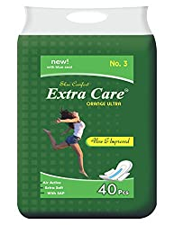 Extra Care Orange ultra XXL Pack of 40 + 10 Pieces