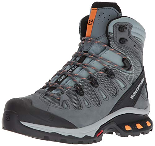 SALOMON Damen Quest 4d 3 GTX W Trekking-& Wanderstiefel, Mehrfarbig (Lead/Stormy Weather/Bird of Paradis 000), 39 1/3 EU