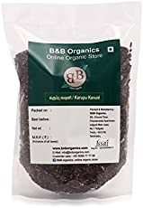 B&B Organics Black Rice (Karupu Kavuni - Low glycemic Index), 1 kg