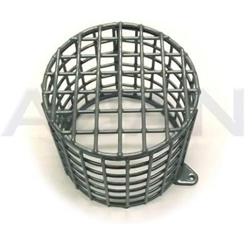 Jaula de malla de acero ovalado 19cm, diámetro de 17cm, profundidad externa Pirs Heavy Duty
