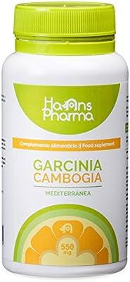 Garcinia Cambogia - Pastillas quemagrasas con cromo metabolizador de grasa y carbohidratos, potente quemagrasas (Fat Burner). 100% Puro 60% (HCA) extracto seco puro. Laboratorio registrado por la FDA Americana.