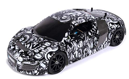Carson 500103043 - 1:10 CV10 Chassis Secret Racer GP 18S  RTR, Ferngesteuertes Auto/ Fahrzeug, RC-Fahrzeug, inkl. Batterien und Fernsteuerung