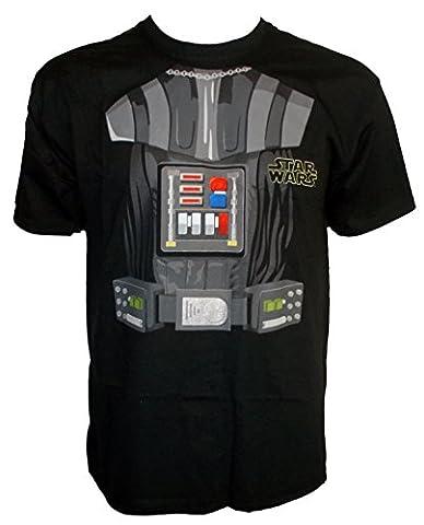 Star Wars - T-Shirt - Garçon noir noir 3-4 ans