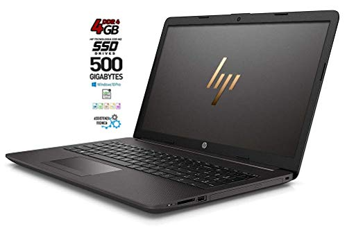 "HP 255 G7 Notebook PC, SSD NAND 3D da 250GB, Display da 15.6"", Amd A4 64bit da 2,6 GHz, 4 Gb DDR4, Bt, WIFI, Dvd-Cd rw, 3 usb [Layout Italiano] Win10 Pro, Open Office, Pronto All'uso, Gar. Italia"