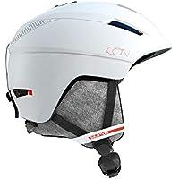 Salomon Icon² Casco de esquí y Snowboard para Mujer, Interior de Espuma EPS 4D, Talla S, Circunferencia: 53-56 cm, Blanco