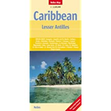 Caribbean and Lesser Antilles Nelles Map (Nelles Maps)