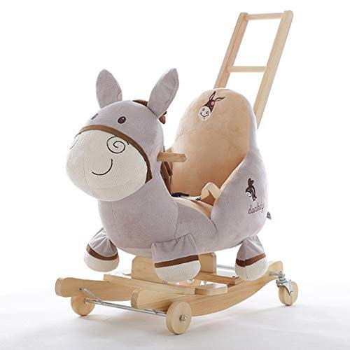 Cheval à Bascule âne Musique pour Enfants Jouets bébé Bébé Petit Cheval...