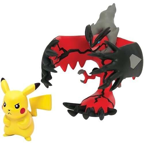 figuras kawaii Pokémon - Figuras Legendaria y Pikachu (Pikachu - Yveltal) (Bizak 30698531)