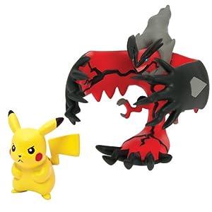 Pokèmon - Figuras Legendaria y Pikachu (Pikachu - Yveltal) (Bizak 30698531)