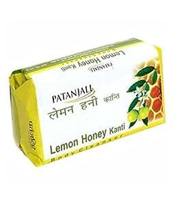 Patanjali Lemon Chandan Body Soap , 125 Gram