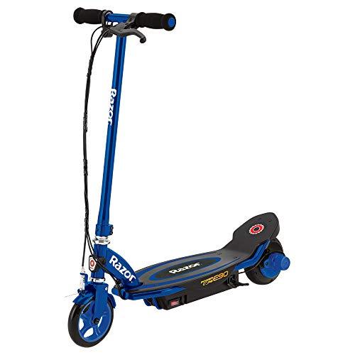 Razor Power Core E90 Elektro-Scooter für Kinder, Unisex Kinder, 13173841, blau, Einheitsgröße