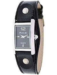 Reloj analógico de señora Christian Gar Mod.Denia 7251- Color Negro