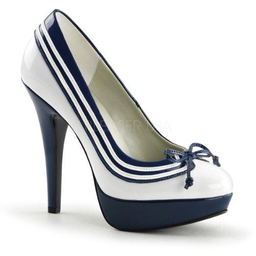 Funtasma Matrosen-Pumps Lolita-13 blau/weiß Gr.39