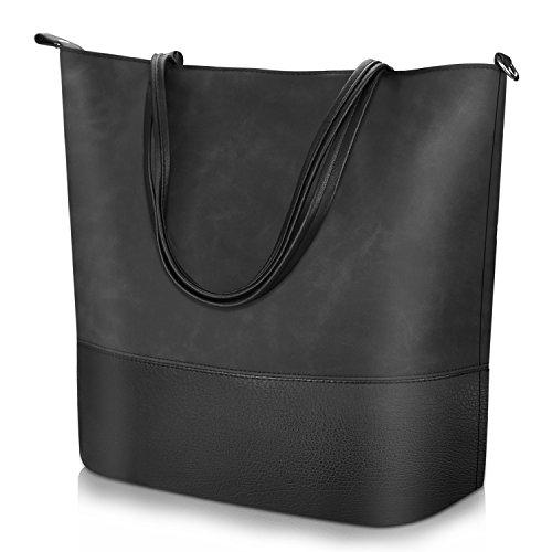Proking Mujer Bolso de Mano Grande Bolso de Hombro Bolso Tote Bag...