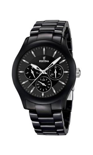 Festina - F16639/2 - Montre Mixte - Quartz Analogique - Bracelet Céramique Noir