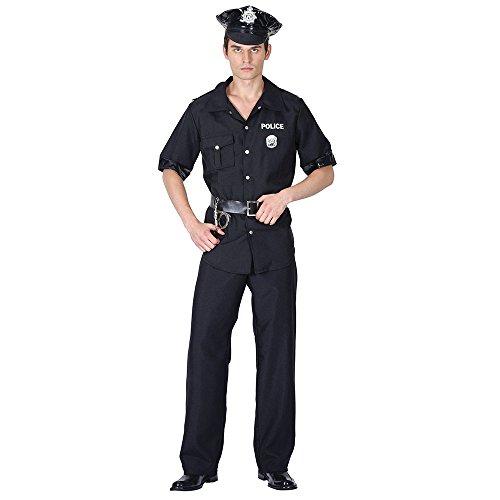 9USA Polizist Kostüm, Mittel (Polizist Halloween Kostüm Für Männer)