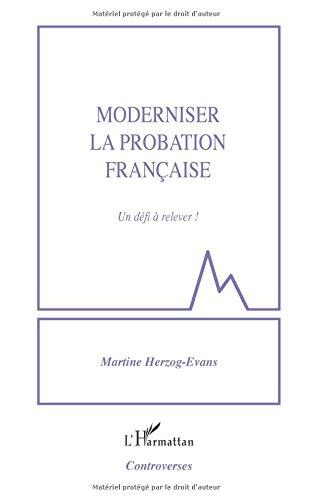 Moderniser la probation française par Martine Herzog-Evans