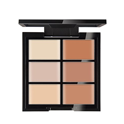 Palette de maquillage KAYI 6 couleurs Concealer - Ensemble de maquillage - Palette de camouflage