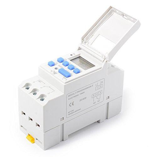XCSOURCE THC15A Digital LCD Strom Programmierbar Zeit Schalter Elektronischer Timer 110V Für Lichter Elektrische Geräte TH280 - 2