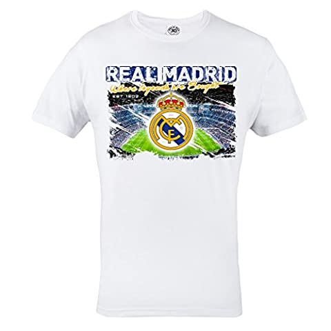 Rule Out T-Shirt Fanswear.Real Madrid. Football Club. Galacticos T-shirt. Fans