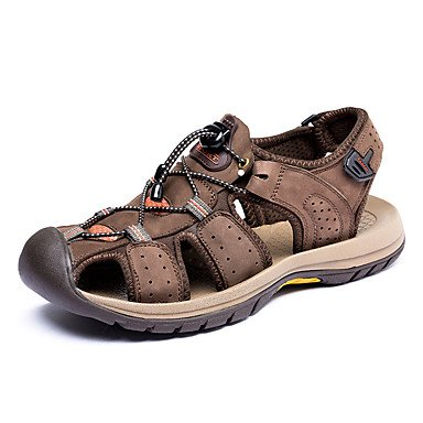 Herren Schuhe Libo New Style Hot Sale Leder im Freien/Casual Comfort Classic Sandalen Gelb/Armee Grün-/ coffee