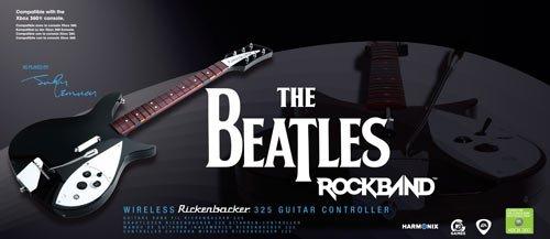 The Beatles: Rock Band Guitarra Rickenbacker 325