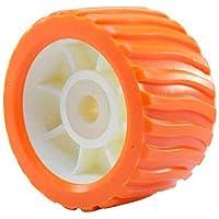 Rodillo lateral PU Todoneumaticas para remolques Nauticos (Naranja)