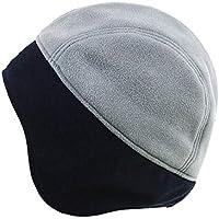 Gorros Gorro De Sombreros Gorras Calentar Cálido Unisex Beanie Invierno A Prueba De Viento Frío Y Cálido Protección para Los Oídos Sombrero De Hombre ZHANGGUOHUA (Color : Gray)