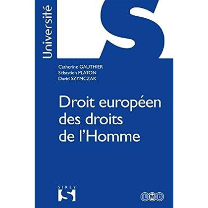 Droits européens des droits de l'Homme - Nouveauté
