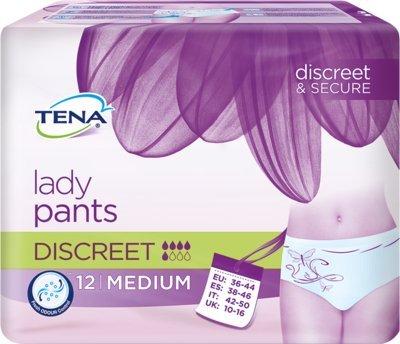 Tena Lady Pants discreet M Einlagen 12 Stück