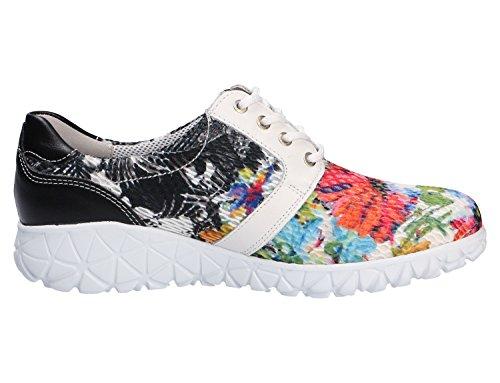 Waldläufer 389004-300-892, Scarpe stringate donna Multicolore
