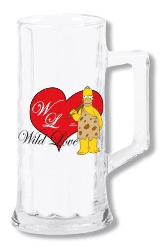 UNITED LABELS Simpson Boccale Birra Wild Love (San Valentino) 806200