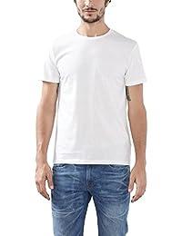 Esprit 126ee2n002-Ic, T-Shirt - Lot de 2 - Homme