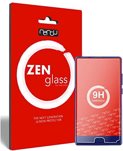 ZenGlass (2 Stück Flexible Glas-Folie für Doogee Mix (5.5 Zoll) Panzerfolie I Bildschirm-Schutzfolie 9H I (Kleiner Als Das Gewölbte Bildschirm)