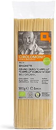 Girolomoni Spaghetti di Grano Duro Cappelli, Bio - 6 x 500 g