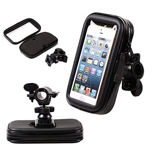 Chenqi Lenker Bike Phone Holder, 360-Grad-Drehung, wasserdicht Universal Case für Bike Mount Halter 5.3