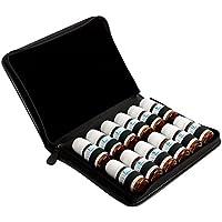 Taschenapotheke für 12 Schüßlersalze aus schwarzem Leder preisvergleich bei billige-tabletten.eu