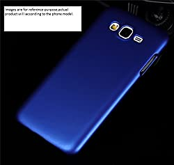 Mobiclonics Hard Shell Back Cover for Samsung Galaxy Note 2(Blue)