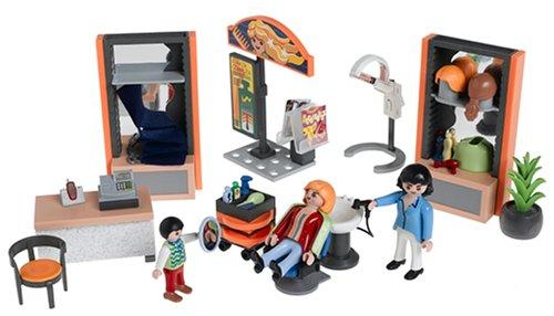 Playmobil - 4413 - Les commerçants - Coiffeuse / Salon de coiffure