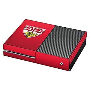 DeinDesign Skin kompatibel mit Microsoft Xbox One Aufkleber Folie Sticker VfB Stuttgart Fanartikel 1893 Fussball