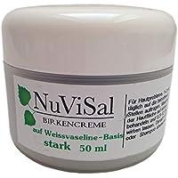NuViSal Birkensalbe mit Birkenteer stark 1er Pack (1 x 50 ml) für Hautpflege bei Schuppenflechte – Plaque Psoriasis... preisvergleich bei billige-tabletten.eu