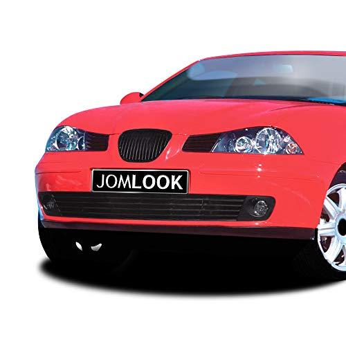 JOM 6L1853653JOE Calandra JOM, Seat Ibiza, 02-, sin emblema, negra