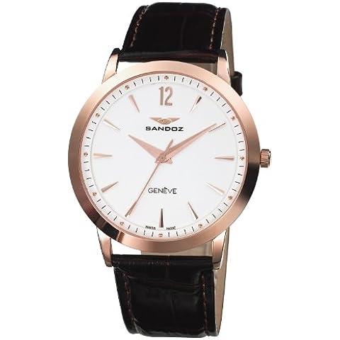 Reloj Sandoz Diver 81335-90 Hombre Blanco