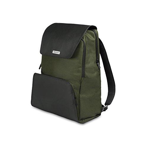 Moleskine zaino porta pc device backpack per tablet, laptop, ipad e computer fino a 15'', dimensione 34 x 20 x 47 cm, colore verde foresta