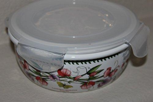 Portmeirion Botanic Garden Round Ceramic Storage Jar with Lock Lid, 5.75 Inch by Portmeirion Botanic Garden Storage Jar