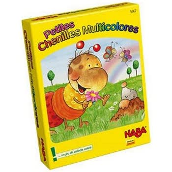 Haba Petites Chenilles Multicolores, 005567